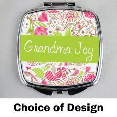 Grandma Compact Mirror - Personalised