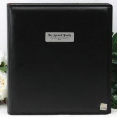 Personalised Drymount Photo Album - Black