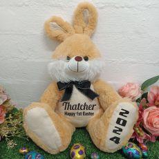 Personalised Easter Bunny Rabbit Plush - Scribble
