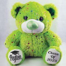 Graduation Bear Teddy Bear 40cm Hollywood Lime