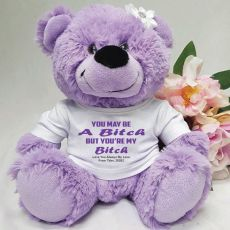 You're A .... Valentines Bear - Lavender