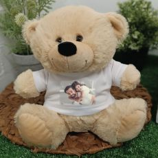 Personalised Photo T-Shirt Teddy Bear - Cream