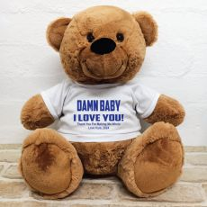 Naughty Love You Valentines Bear - 40cm Brown