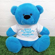 Valentines Bear You may Be A - 40cm Blue
