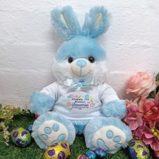 First Easter Bunny Rabbit Plush - Bjay Blue
