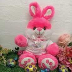 First Easter Bunny Rabbit Plush - Bjay Pink