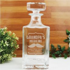 Engraved Personalised Whisky Decanter 700ml