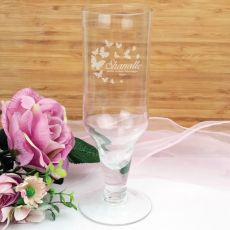 Personalised Engraved Pilsner Glass (F)