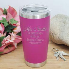 Teacher Insulated Travel Mug 600ml Pink - Dreams