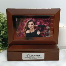 Personalised Wooden Photo Keepsake Trinket Box