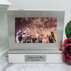 50th Photo Keepsake Diamente Trinket Box