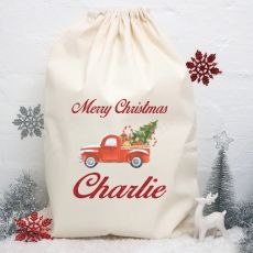 Personalised Christmas Santa Sack -Ute