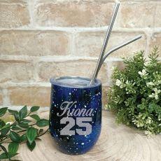 Personalised Birthday Eco Tumbler Starry Night