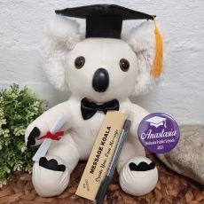 Graduation Signature Koala with Personalised Badge