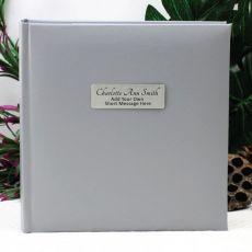 Personalised Silver Photo Album - 200