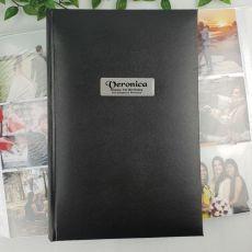 Personalised 1st Album 300 Photo Black