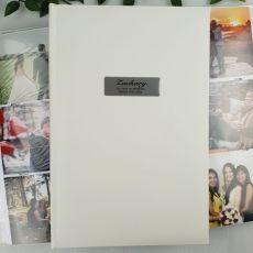 Personalised 1st Album 300 Photo White