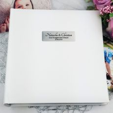 Personalised Engagement Photo Album 200 - White