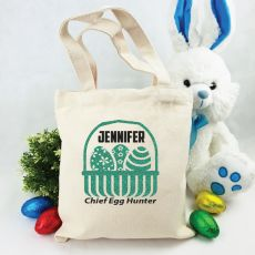 Personalised Easter Hunt Bag - Basket