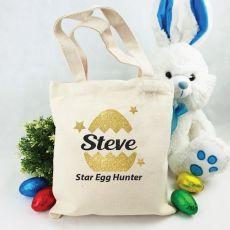 Personalised Easter Hunt Bag - Egg