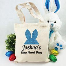 Personalised Easter Hunt Bag - Bunny Ears