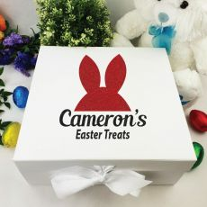 Personalised Easter Box - Bunny Ears
