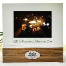 Personalised Birthday Keepsake Photo Box