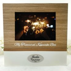 Personalised 50th Birthday Memory Keepsake Box