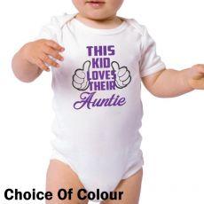 This Kid Loves Their Aunty Bodysuit