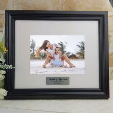 Personalised Aunt Frame Black Timber Hathorne 5x7