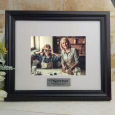 Personalised Nana Frame Black Timber Hathorne 5x7