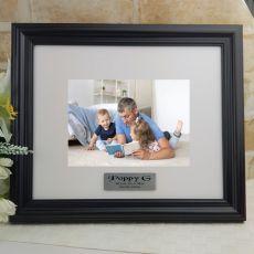 Personalised Pop Frame Black Timber Hathorne 5x7