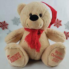 My 1st Christmas Personalised Teddy Bear 40cm Plush