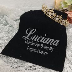 Coach Gold Vine Tiara in Personalised Bag