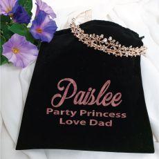 Tiara Rose Gold in Personalised Bag