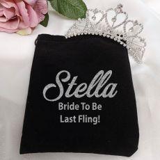 Bride Medium Heart Tiara in Personalised Bag