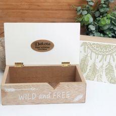 1st Birthday Wild & Free Dream Catcher Box