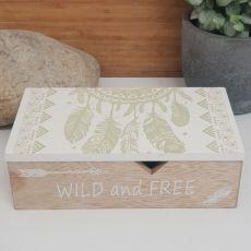 Wild & Free Dream Catcher Trinket Box
