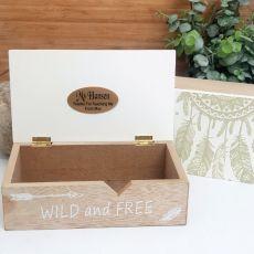 Teacher Wild & Free Dream Catcher Box
