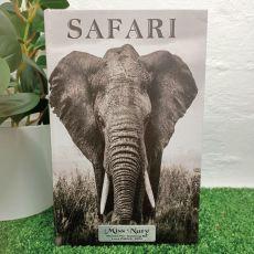 Elephant Black & White Teacher Stash Book Box