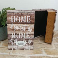 21st Birthday Home Sweet Home Stash Book Box