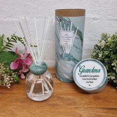 Sandalwood Reed Diffuser in Personalised Grandma Gift Box