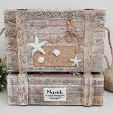 Personalised Jumbo Beach Trinket Box
