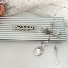 Personalised Mum Dragonfly Suncatcher
