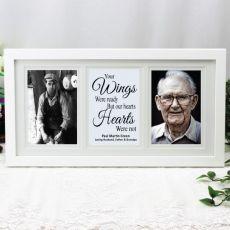Memorial Gallery Photo Frame 4x6 Typography Print White