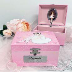 1st Birthday Ballerina Music Jewelley Box