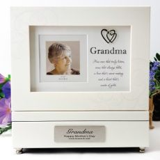 Personalised Grandma Music Box Gift