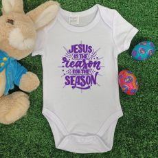 Jesus Is The Reason Easter Bodysuit