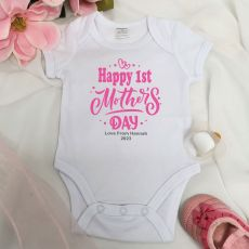 Personalised Mothers Day  Bodysuit - Typography