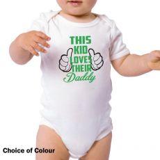 This Kid Loves Their Daddy Bodysuit